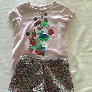 Hanna Andersson Top and Mini Boden Size 8